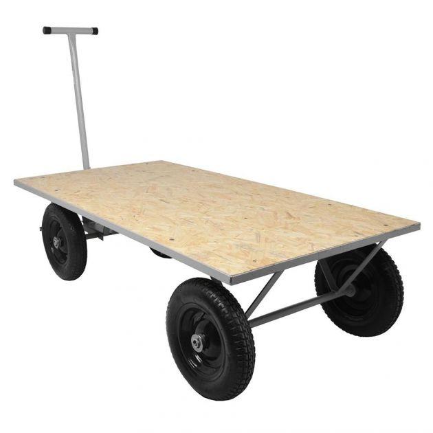 Carrinho Plataforma Para Cargas Até 400kg Tm-53 Marcon