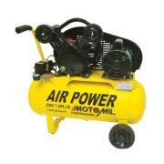 Compressor Air Power 10 Pés 50 Litros Cmv 10pl/50 Monofásico 110v/220v Motomil