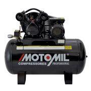 Compressores de Ar Profissional 10 Pés 100 Litros Cmv 10/100 Monofásico Motomil