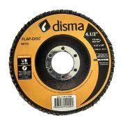 """Disco Flap 4,5"""" - Grão 80 Disma"""