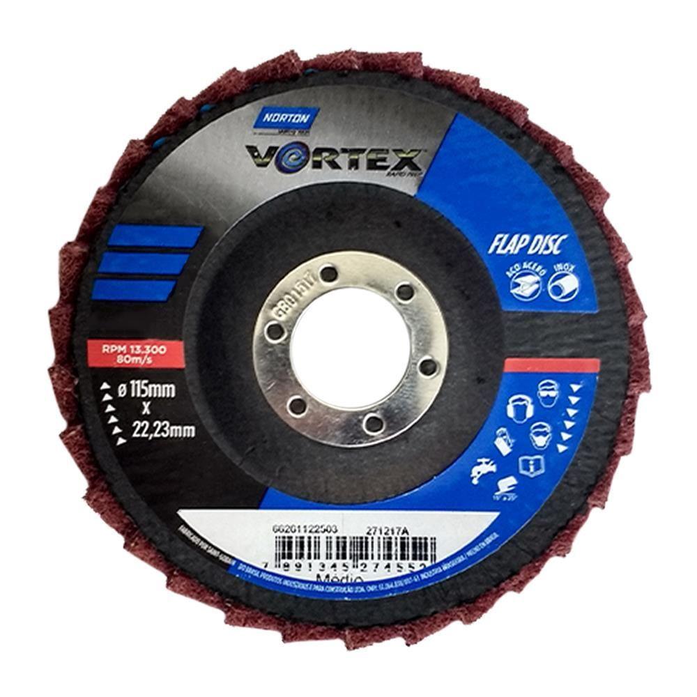 """Disco Flap Vortex Médio - Vermelho 4,5"""" - Norton"""