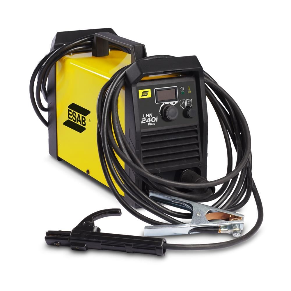 Máquina Inversor de Solda Lhn 240i Plus 220v Esab Para Eletrodo e Tig (dc)