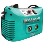 Máquina Inversor de Solda Vulcano Inverter 165 Dv Bivolt Balmer Para Eletrodo e Tig (dc)