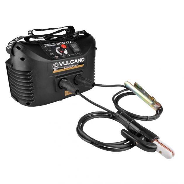 Máquina Inversor de Solda Vulcano Inverter Gold 200 Dv Bivolt Balmer Para Eletrodo e Tig (dc)