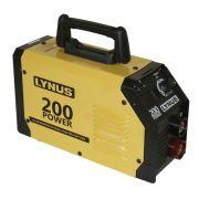 Máquina Inversor de Solda Lis-200 Power Mma 200a Bivolt Lynus