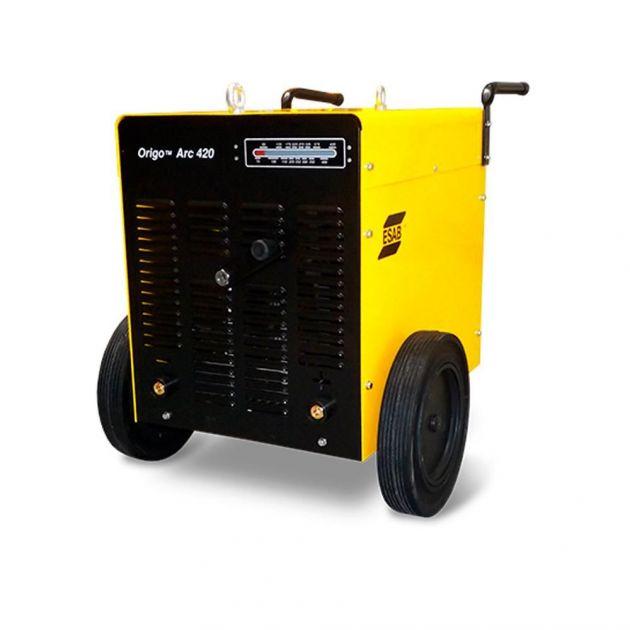 Maquina Retifica de Solda Origoarc 420 Trifásico Esab