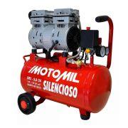 Motocompressor de Ar Silenc 5pcm 120psi Cms-5.0/24l - 220v Motomil