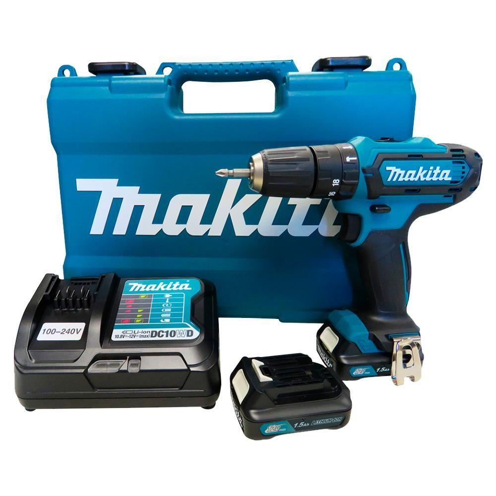 Parafusadeira Furadeira de Impacto 12v A Bateria Hp331dwye Makita