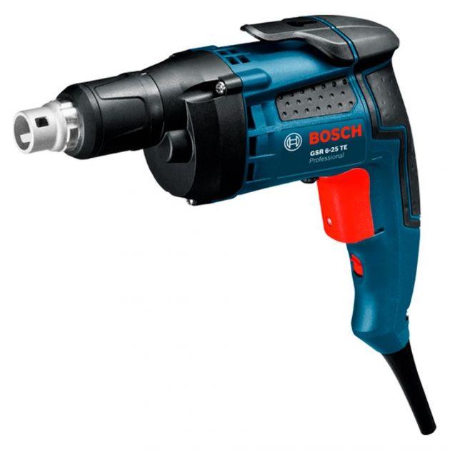 Parafusadeira Eletrica Para Drywall 701w 1445 Gsr 6-25 Te Bosch
