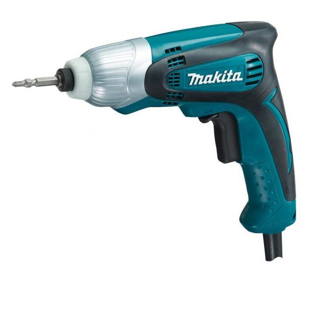 "Parafusadeira Elétrica de Impacto 230w Td0100 1/4"" Makita"