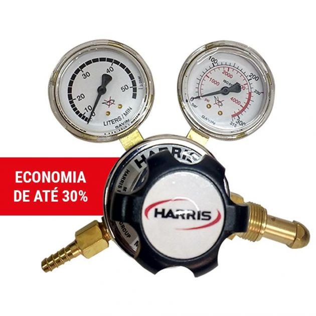 Regulador de Pressão / Economizador 25gx 50-l - Argônio Harris
