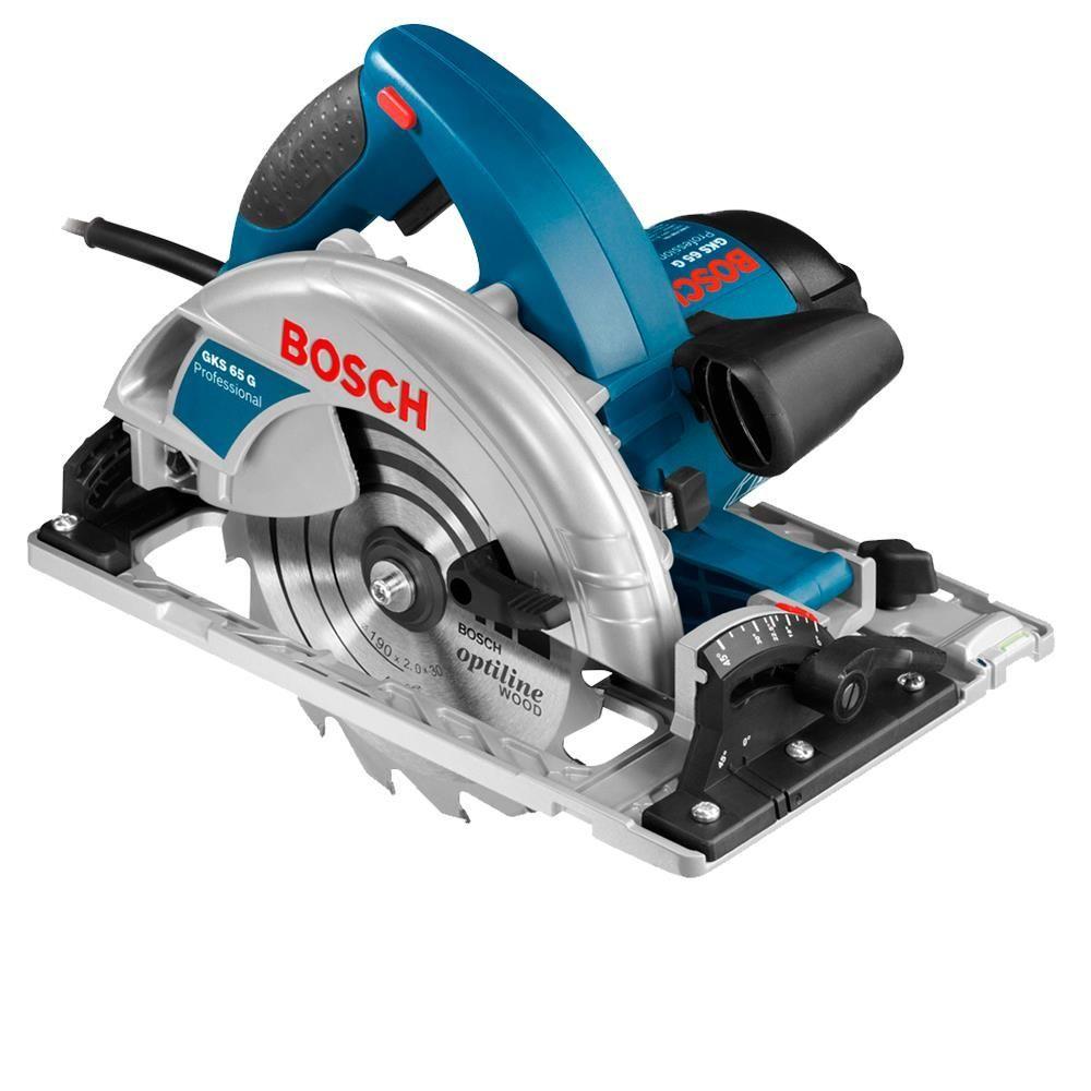 Serra Circular 7.1/4 Pol 1.800w 220v Gks 65 Gce Bosch