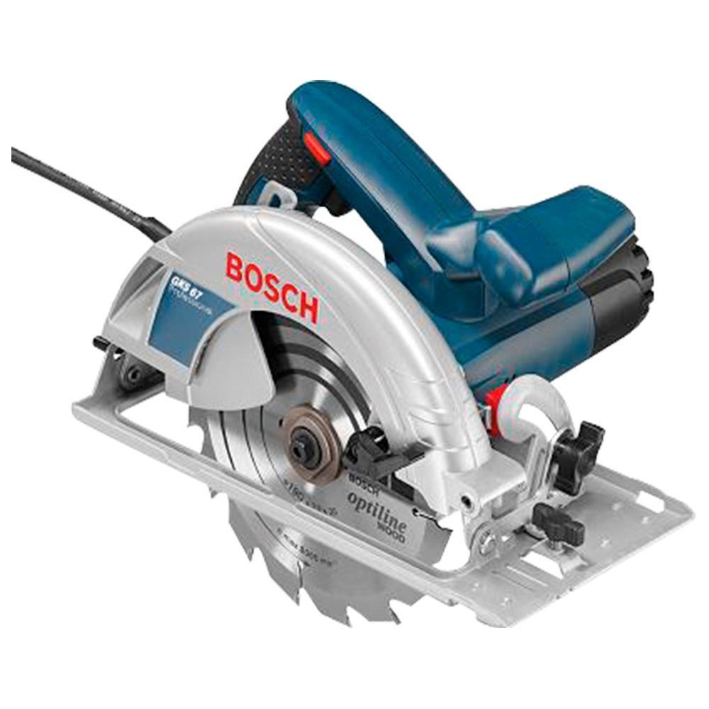"""Serra Circular 7.1/4"""" 1600w Gks 67 Bosch"""